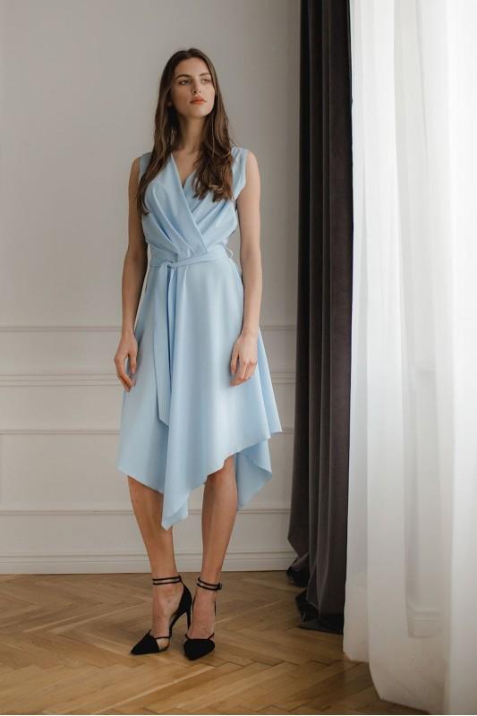 Dress L080 Blue
