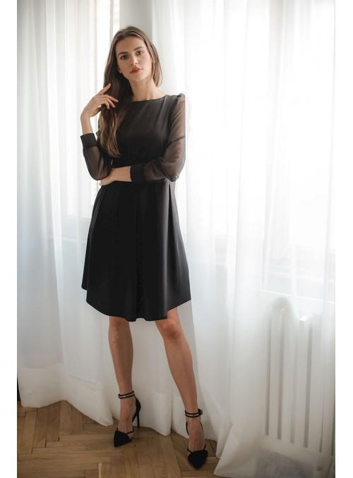 Dress L082 Black