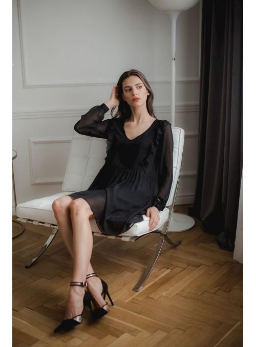 Dress L083 Black