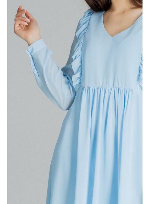 Dress L083 Blue