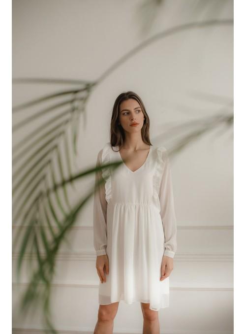 Dress L083 Ecru