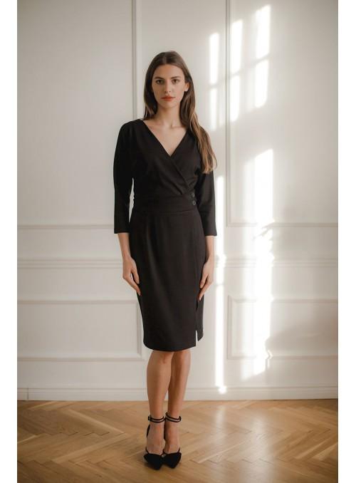 Dress L086 Black