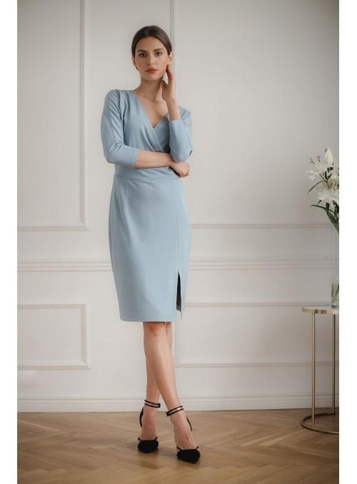 Dress L086 Blue