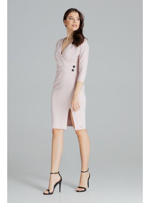Dress L086 Pink