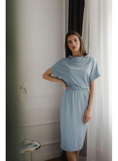 Dress L087 Blue