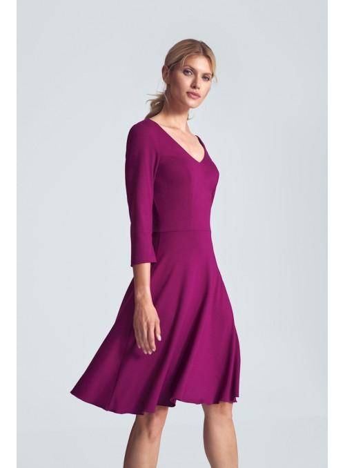 Dress M709 Fuchsia