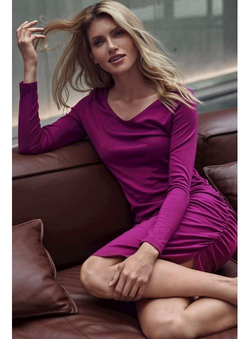 Dress M714 Fuchsia