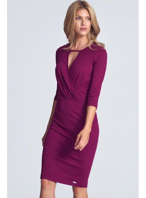Dress M715 Fuchsia