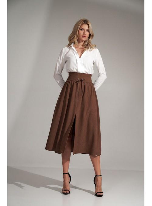 Skirt M722 Brown