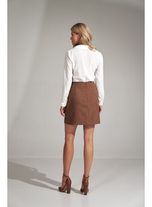 Skirt M723 Brown