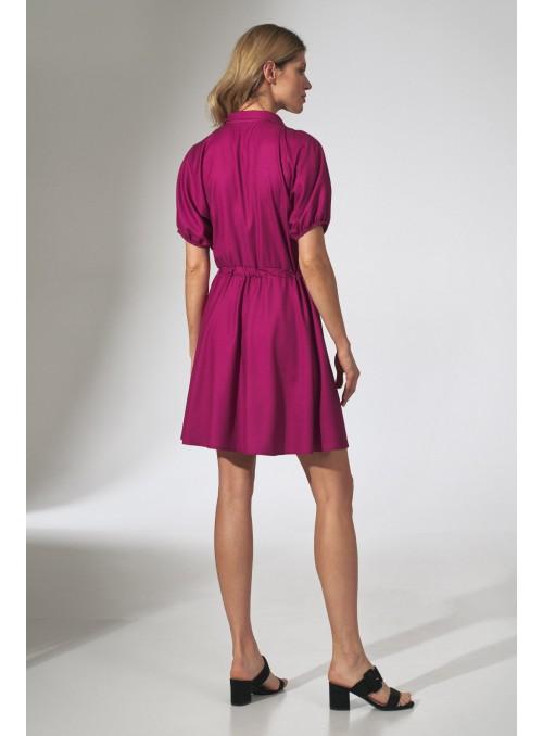 Dress M739 Fuchsia