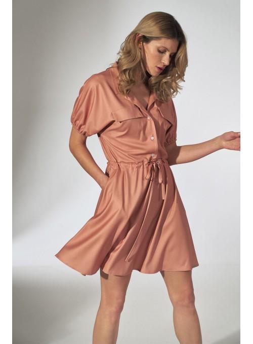 Dress M739 Orange