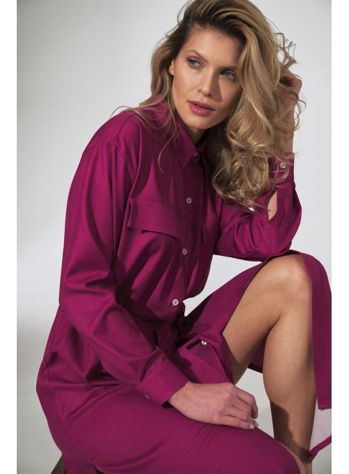 Dress M740 Fuchsia