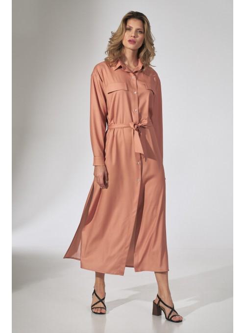 Dress M740 Orange