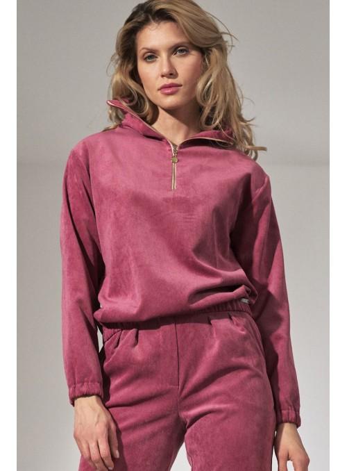 Hoodie M741 Pink