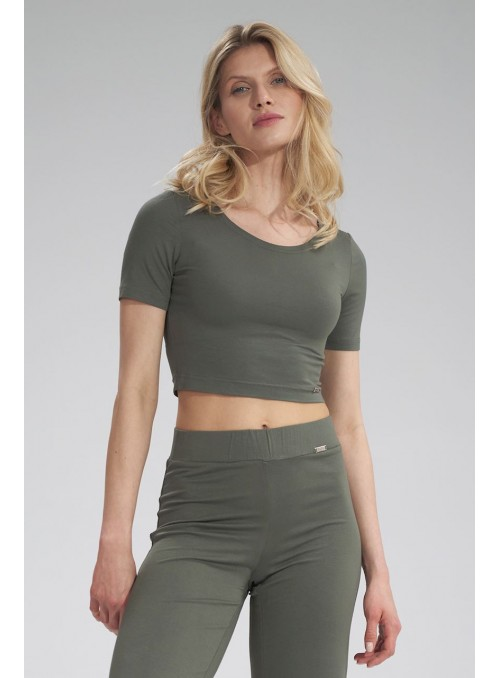 Blouse M748 Olive Green