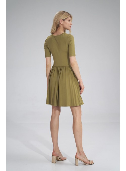 Dress M751 Light Olive Green
