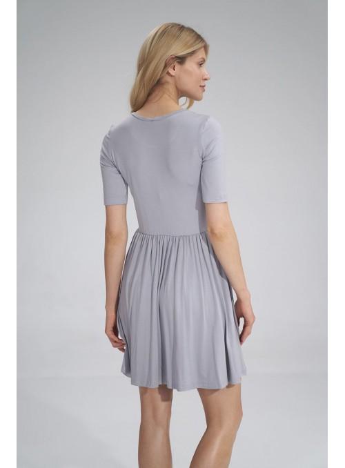 Dress M751 Light Grey
