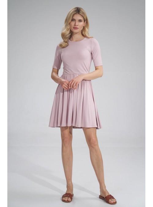 Dress M751 Pink