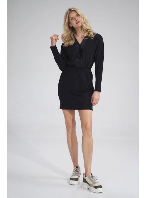Dress M753 Black