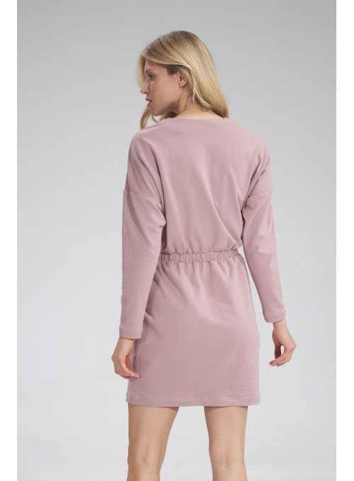 Dress M753 Dark Pink