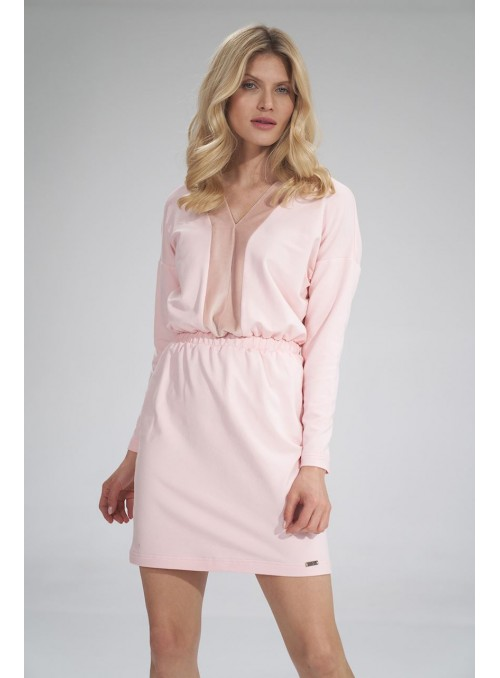 Dress M753 Pink