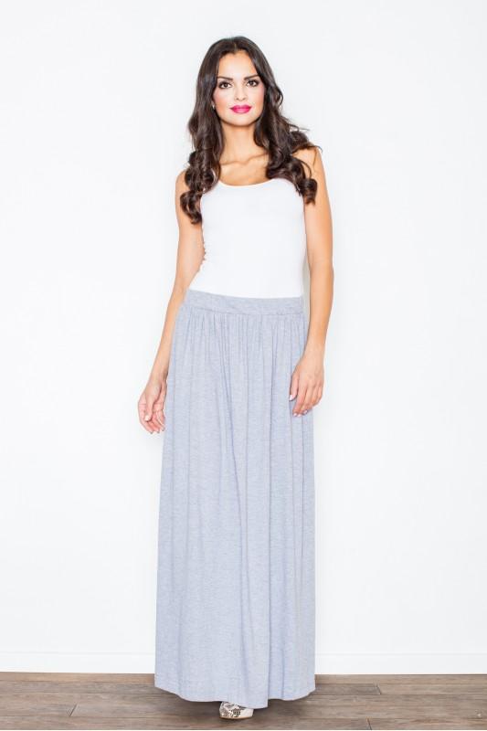 ilgas lieknėjantis maxi sijonas