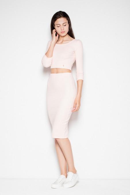 Dailus rožinis kostiumėlis