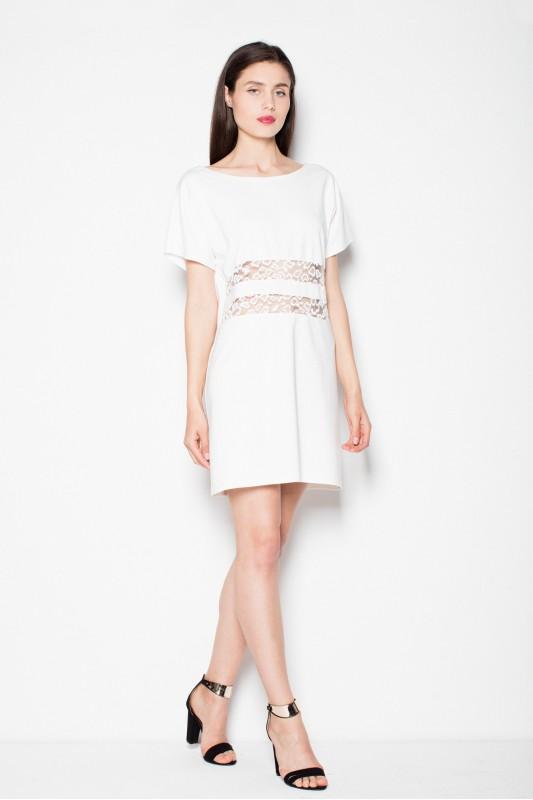 Dress VT066 Ecru