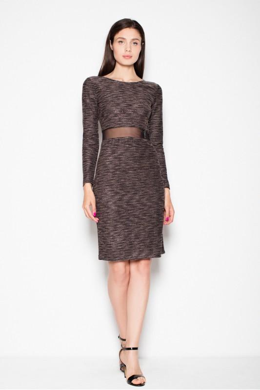 Dress VT068 Brown