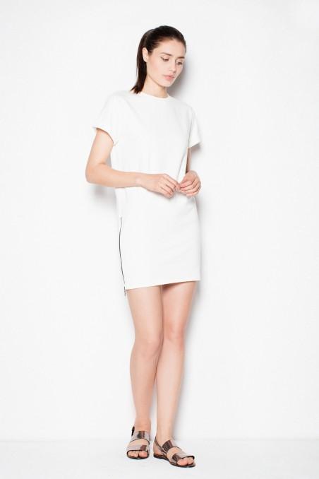 Balta kasdienė suknelė