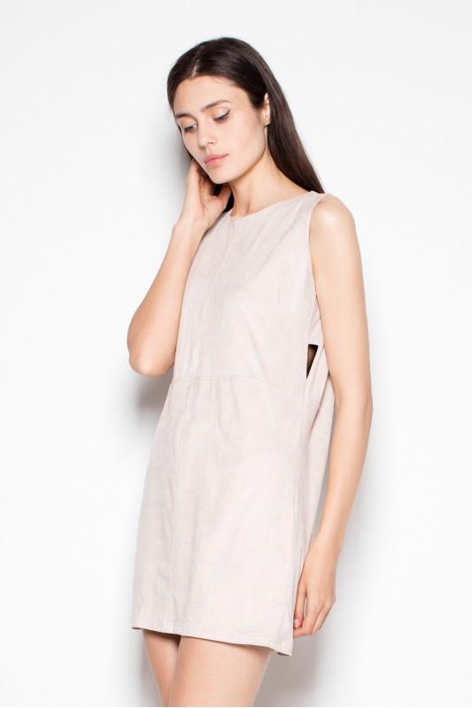 Dress VT071 Beige