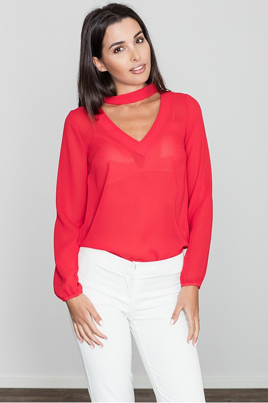 Blouse M543 Red