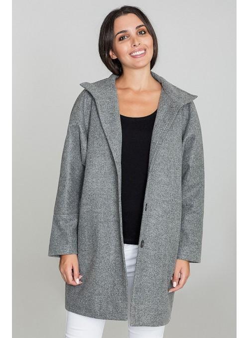 Coat M589 Grey