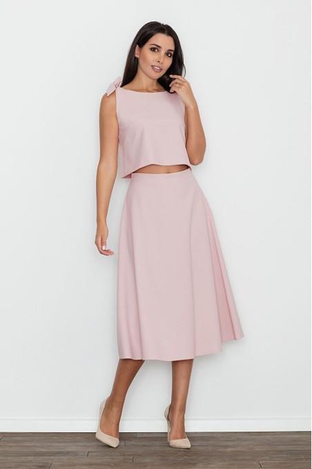 Dailus rožinės spalvos kostiumėlis