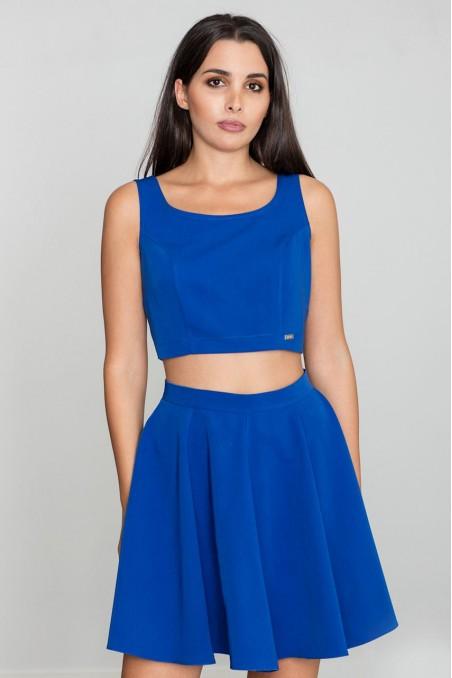 Stilingas mėlynas kostiumėlis