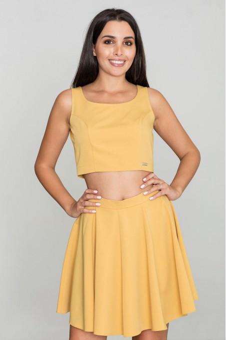 Stilingas geltonas kostiumėlis