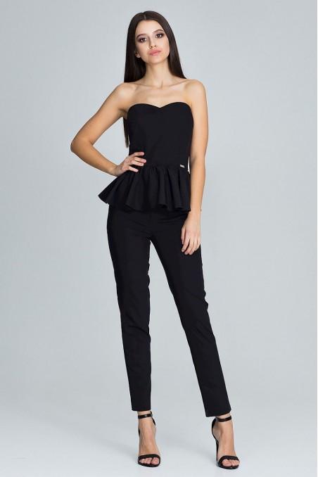 Elegantiškas juodas kostiumėlis