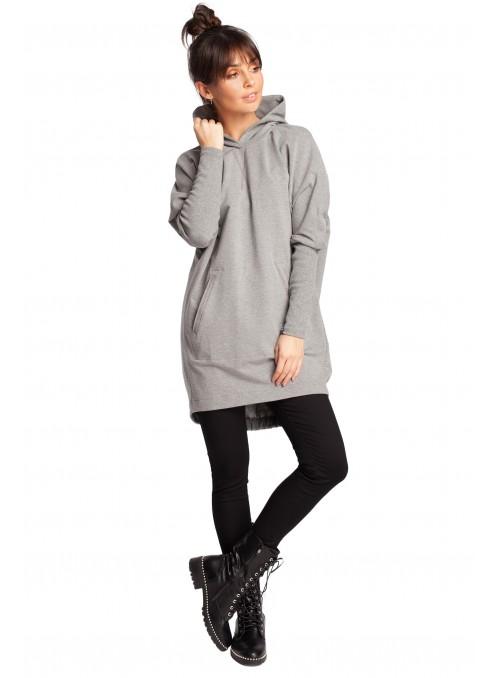 Švelnus pilkas megztinis