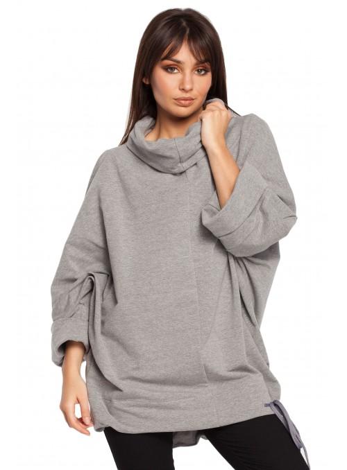 Platus pilkas džemperis