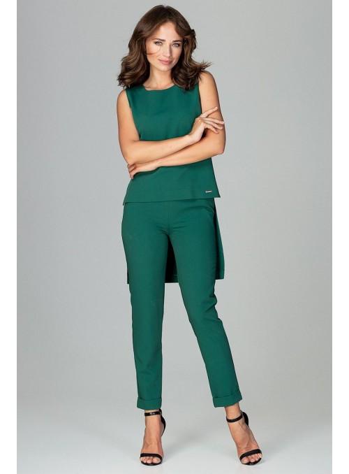 Žavingas žalios spalvos kostiumėlis