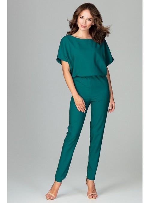 Jumpsuit K495 Green