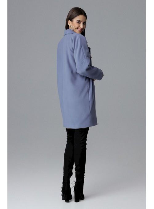 Coat M623 Blue
